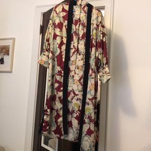 Zara multicolored kimono